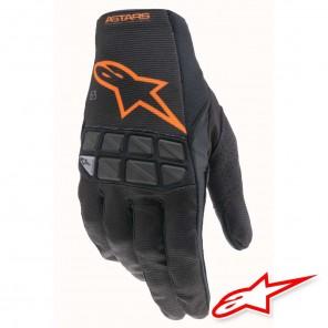 Guanti Cross Alpinestars RACEFEND - Nero Arancione
