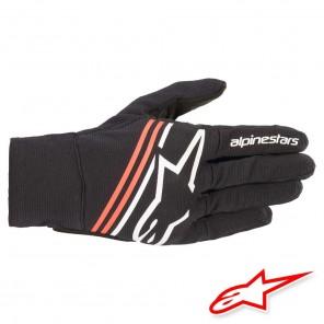 Guanti Moto Alpinestars REEF - Nero Bianco Rosso Fluo