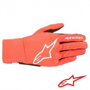 Guanti Moto Alpinestars REEF - Rosso Fluo Bianco Nero