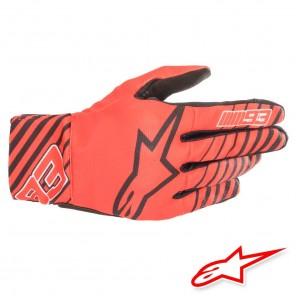 Guanti Moto Alpinestars MM93 ARAGON - Rosso Nero Bianco