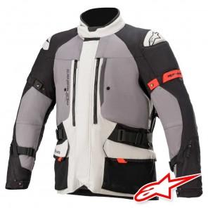 Giacca Moto Alpinestars KETCHUM GORE-TEX - Ice Grey Dark Grey Black