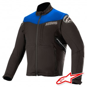 Giacca Enduro Alpinestars SESSION RACE - Blu Nero