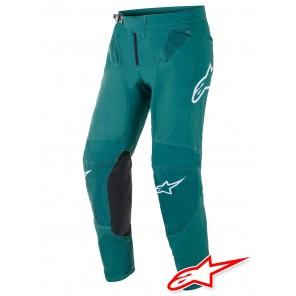 Pantaloni Cross Alpinestars SUPERTECH BLAZE - Verde Scuro
