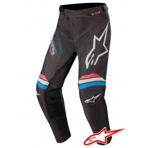 Pantaloni Cross Alpinestars RACER BRAAP - Nero Grigio Chiaro