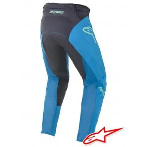 Pantaloni Alpinestars RACER BRAAP - Blu Oceano Menta