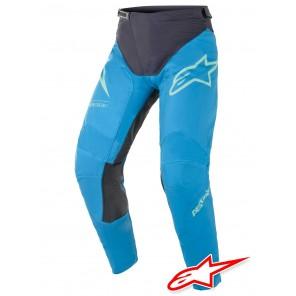 Pantaloni Cross Alpinestars RACER BRAAP - Blu Oceano Menta