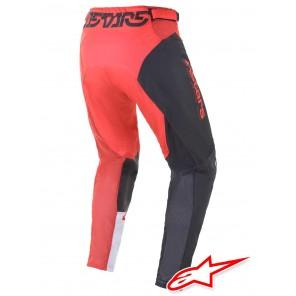 Pantaloni Alpinestars RACER COMPASS - Antracite Rosso Fluo Bianco
