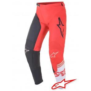 Pantaloni Cross Alpinestars RACER COMPASS - Antracite Rosso Fluo Bianco