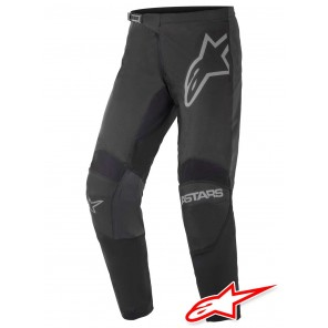 Pantaloni Cross Alpinestars FLUID GRAPHITE - Nero Grigio Scuro