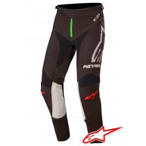 Pantaloni Cross Alpinestars AMMO MONSTER ENERGY - Nero Grigio Verde Brillante