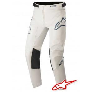 Pantaloni Cross Bambino Alpinestars YOUTH RACER BRAAP - Grigio Chiaro Blu Scuro