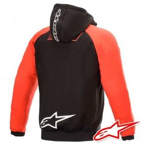 Giacca Alpinestars MM93 ARAGON Hoodie - Nero Rosso