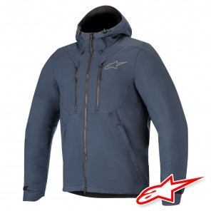 Giacca Alpinestars DOMINO Tech Shell - Blu Navy