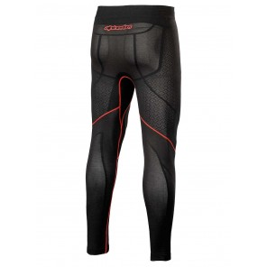 Pantaloni Alpinestars RIDE TECH V2 BOTTOM Summer - Nero Rosso
