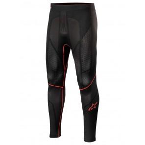 Pantaloni Sottotuta Alpinestars RIDE TECH V2 BOTTOM Summer - Nero Rosso
