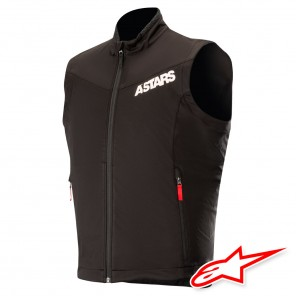 Gilet Enduro Alpinestars SESSION RACE - Nero Rosso