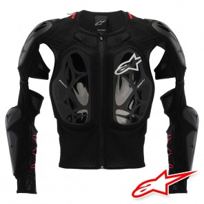 Protezione Alpinestars BIONIC TECH Jacket - Nero Bianco Rosso
