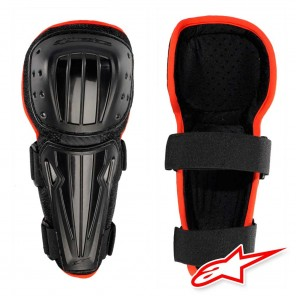 Alpinestars Youth DEFENDER Knee Protectors - Nero Rosso