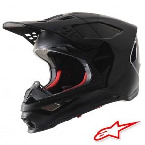 Casco Motocross Alpinestars SUPERTECH S-M8 Echo - Nero Anthracite