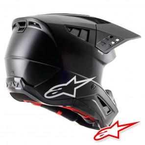 Casco Alpinestars S-M5 Solid - Nero Opaco