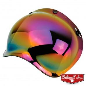 Visiera a Bolla Biltwell BUBBLE Anti-Fog - Arcobaleno Specchio