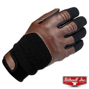 Guanti Moto Biltwell BANTAM - Chocolate Black