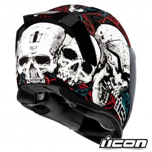 Icon Casco AIRFLITE Skull 18