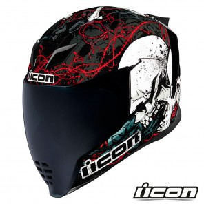 Casco Integrale Icon AIRFLITE Skull 18 - Glory