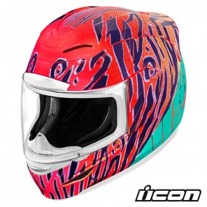 Casco Integrale Icon AIRMADA Wild Child - Arancione