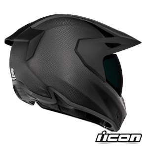 Casco Icon VARIANT PRO Ghost Carbon - Nero