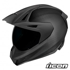 Casco Integrale Icon VARIANT PRO Ghost Carbon - Nero