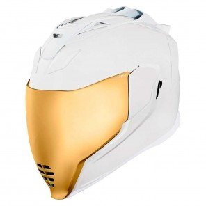 Casco Integrale Icon AIRFLITE Peace Keeper - Bianco