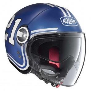 Casco Nolan N21 VISOR Quarterback 85 - Flat Imperator Blue