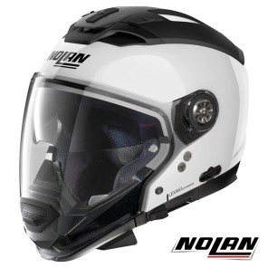 Casco Modulare Nolan N70-2 GT Special 15 N-COM - Pure White