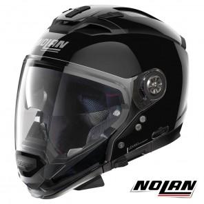 Casco Modulare Nolan N70-2 GT Classic 3 N-COM - Glossy Black