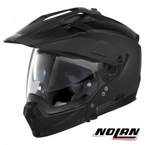 Casco Modulare Nolan N70-2 X Classic 10 N-COM - Flat Black