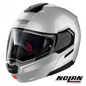 Casco Apribile Nolan N90-3 N-COM Special 11 - Salt Silver