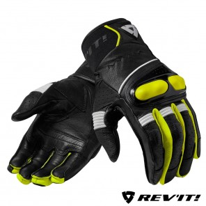Guanti REV'IT! HYPERION - Nero Giallo Neon