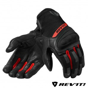 Guanti REV'IT! STRIKER 3 - Nero Rosso