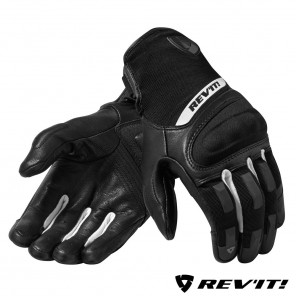 Guanti REV'IT! STRIKER 3 - Nero Bianco