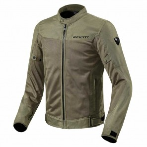 Giacca Moto REV'IT! ECLIPSE - Verde Scuro