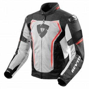 Giacca Moto REV'IT! VERTEX AIR - Nero Rosso