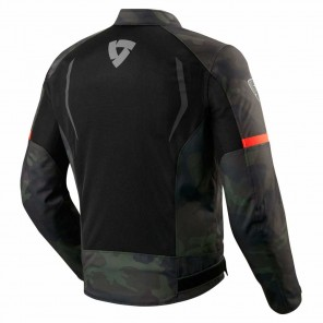 Giacca REV'IT! TORQUE - Nero Verde Militare