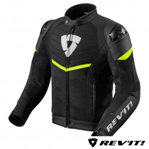 Giacca REV'IT! MANTIS - Nero Giallo Neon