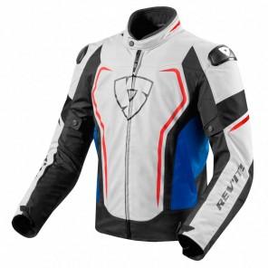 Giacca Moto REV'IT! VERTEX TL - Bianco Blu
