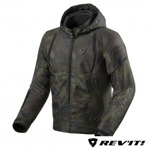 Giacca Moto REV'IT! FLARE 2 - Verde Scuro Camo