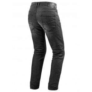 Jeans REV'IT! VENDOME 2 (Taglia Corta) - Grigio Scuro Slavato
