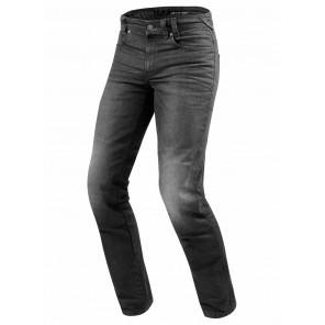 Jeans Moto REV'IT! VENDOME 2 (Taglia Lunga) - Grigio Scuro Slavato