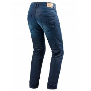 Jeans REV'IT! VENDOME 2 (Taglia Corta) - Blu Scuro Slavato