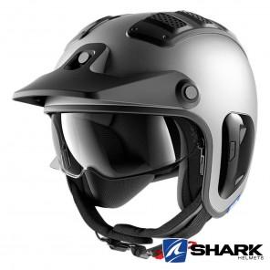 Casco Moto Jet Shark X-DRAK 2 Blank Mat - Antracite